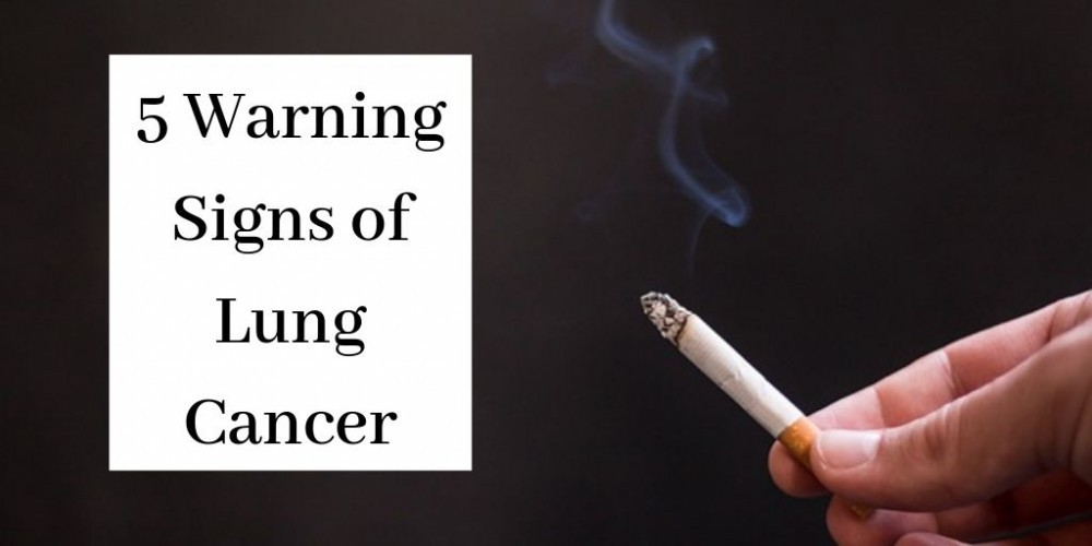 What Are The Early Warning Signs Of Lung Cancer - Cigarette