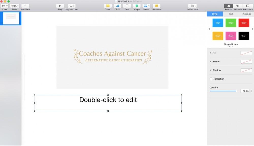 keynote editor