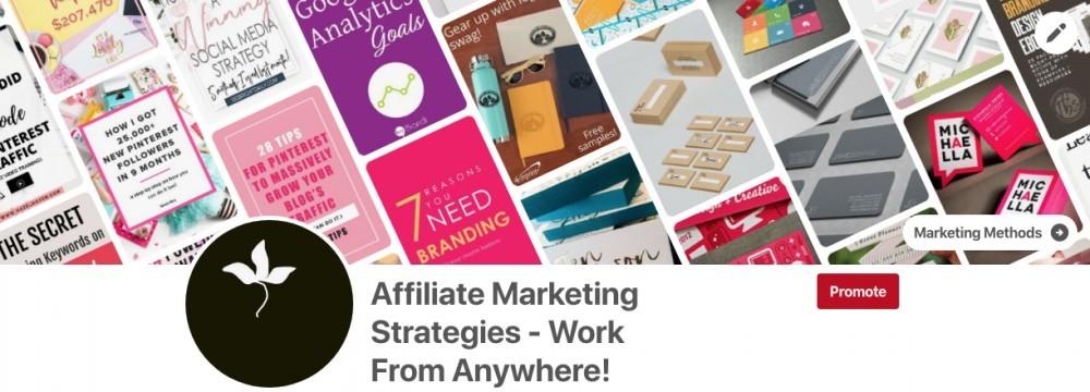 What Is A Pinterest Widget - Affiliate Marketing Profile