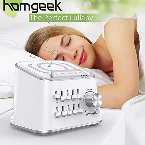 Homgeek white noise machine