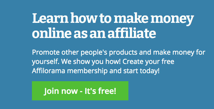 Affilorama Review - Homepage Graphic