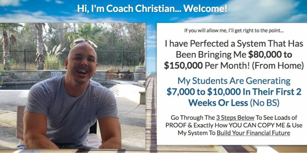 coach christian of big income system