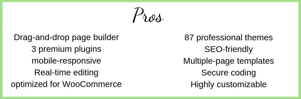 pros chart