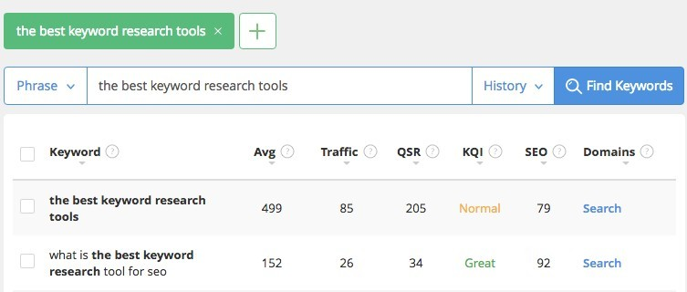 jaaxy keyword research dashboard