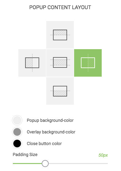 How To Create A Popup - Content Layout Options