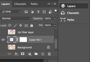 dragging layers in photoshop