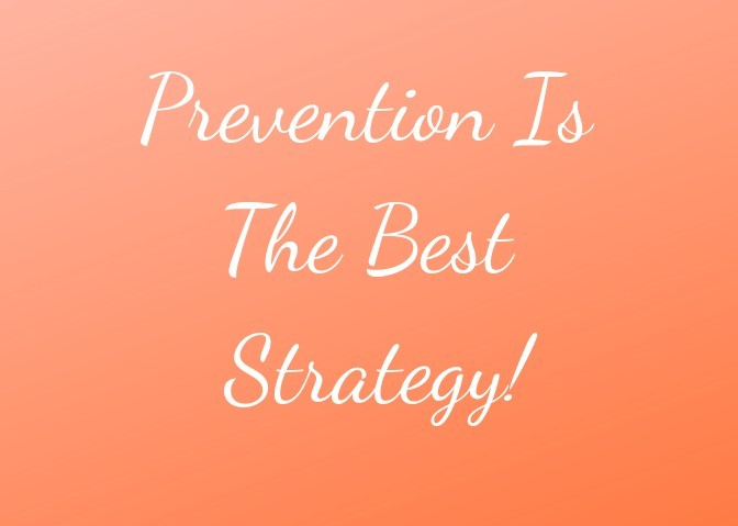 prevention is the best strategy quote