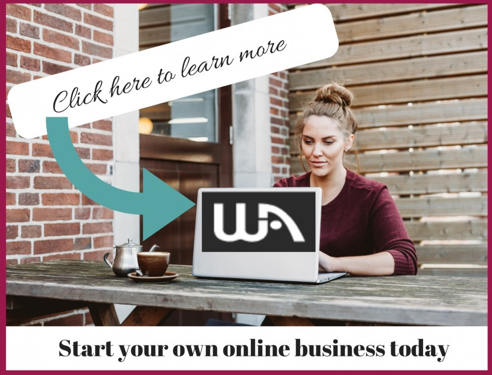 Wealthy Affiliate start your own online business today banner
