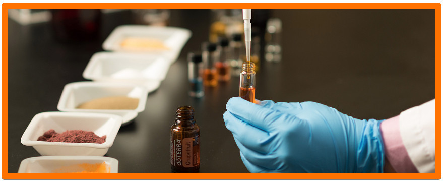 Can You Make Money Selling Essential Oils - Man In Lab With Oils