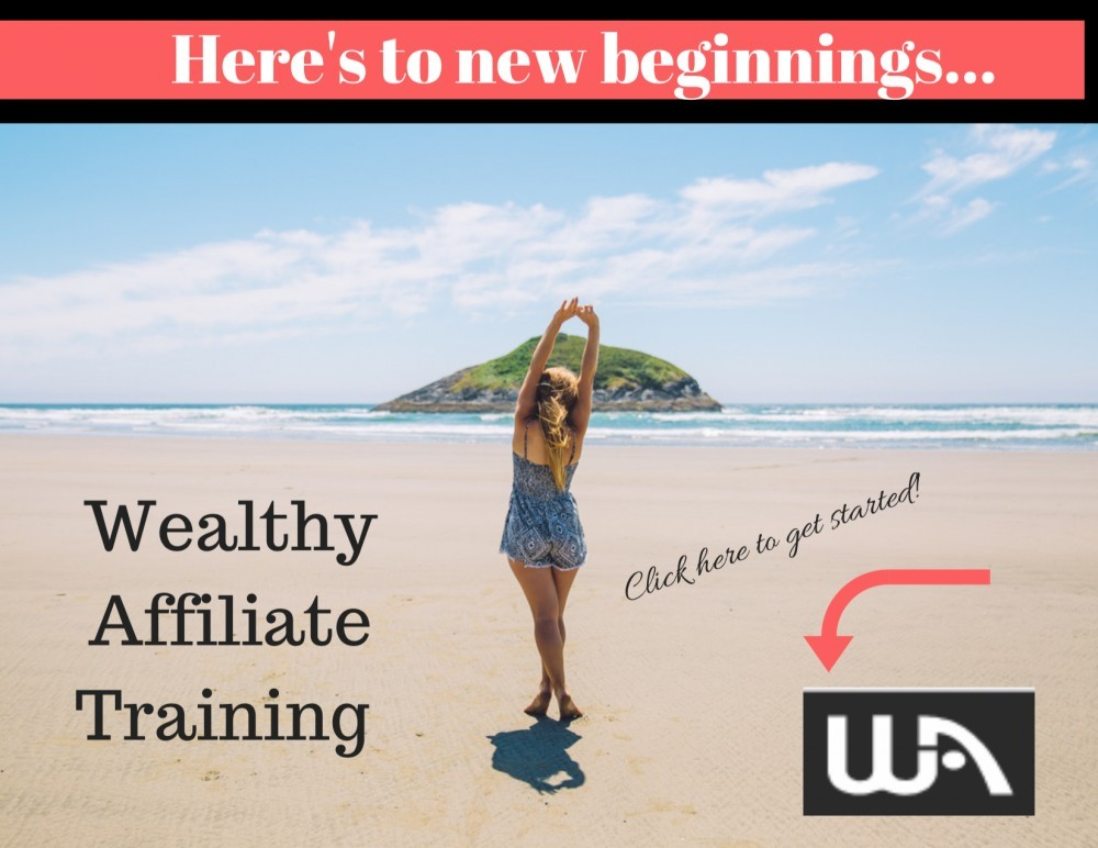 Wealthy Affiliate New Beginnings Banner