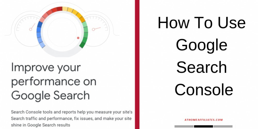 how to use google search console banner