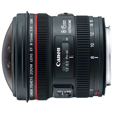 canon fisheye lens
