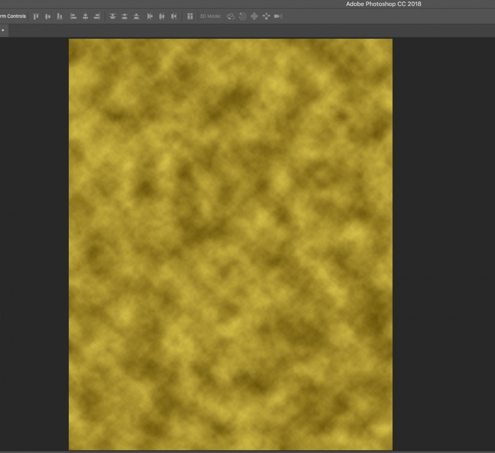 gold screen in photoshop