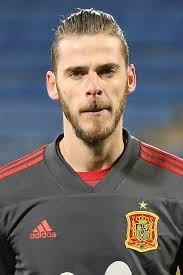 David de Gea- the current Man United Goalie