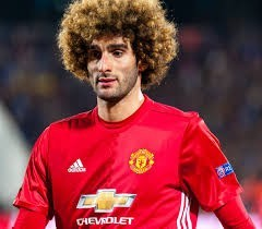 Marouane Fellaini- a United midfielder