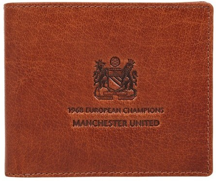 Manchester United 50th anniversary 1968 European Cup win wallet