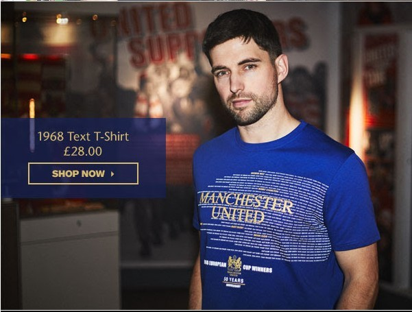 Model showing a what a sample of the Text T-Shirt looks like