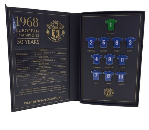 50th anniversary collection badge