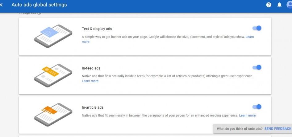 google adsense auto ads review