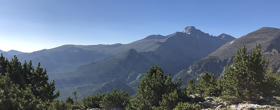 Longs Peak in Rocky Mountain National Park