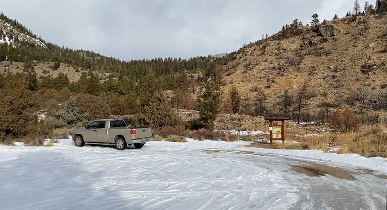 Roaring Creek Trailhead