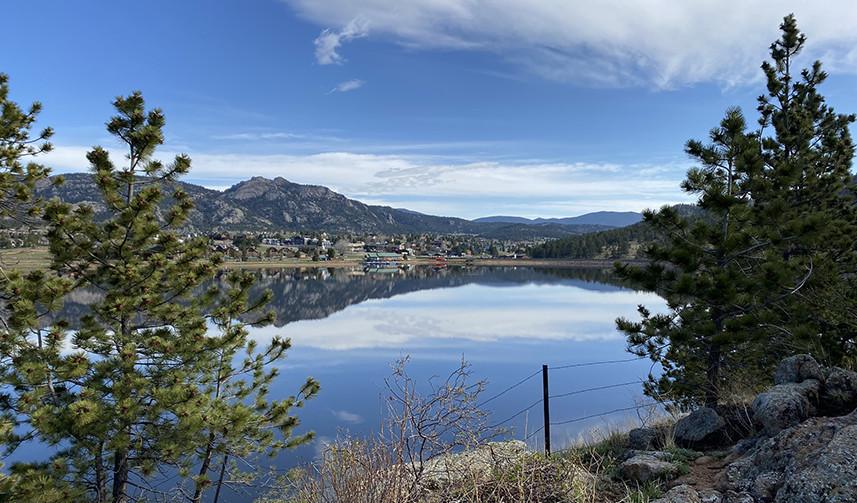 Lake Estes Colorado