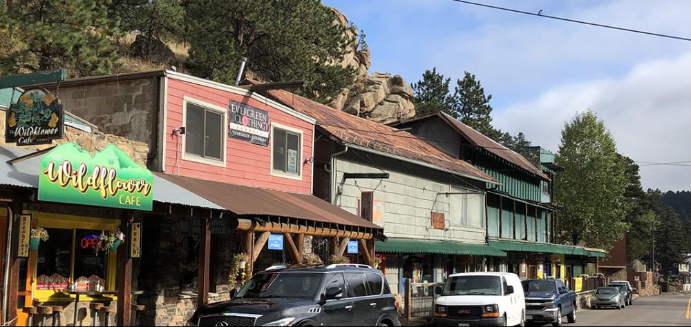 Shops in Evergreen Colorado