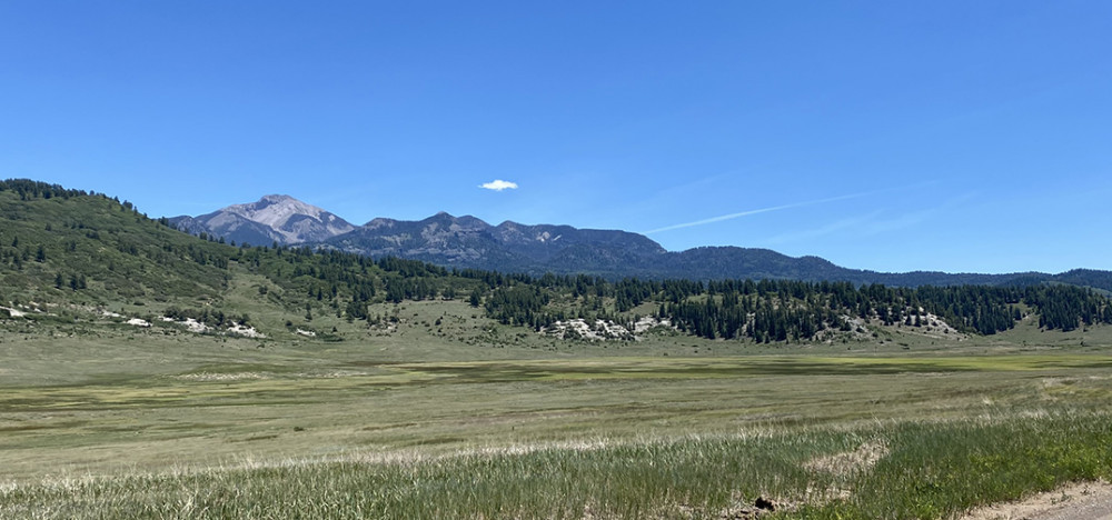 Rocky Mountains Near Pagosa Springs Colorado