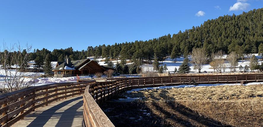 Evergreen Lake House and Boardwalk