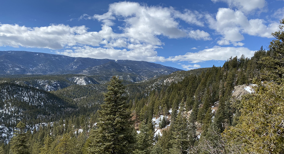 Rocky Mountains & San Carlos Trail