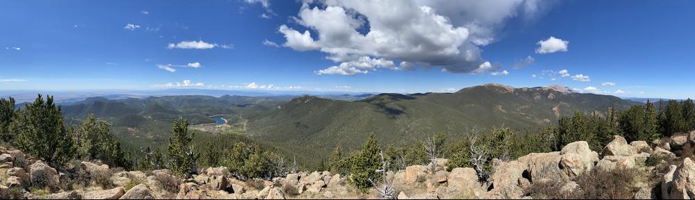 Mount Rosa Panorama