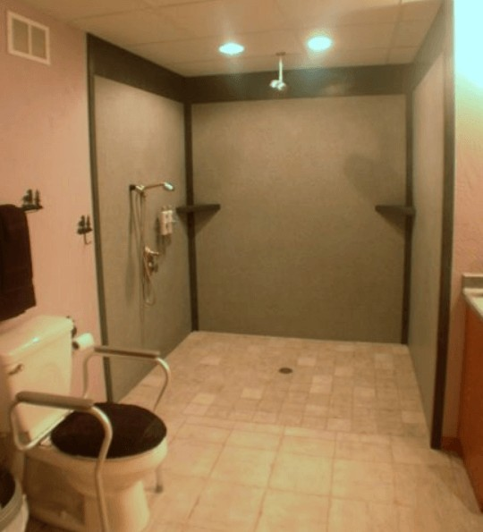 ADA compliant bathroom
