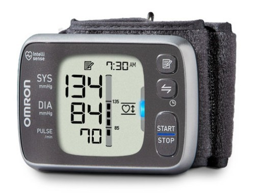 Omron 7 Series Wrist BP Monitor