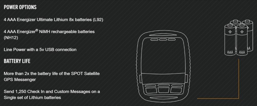 SPOT Gen3 Battery