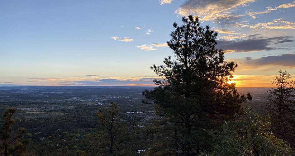 Colorado Springs Sunrise
