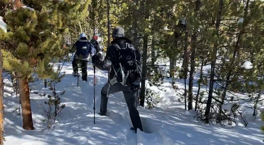 Blazing a Trail in 4 Feet of Snow