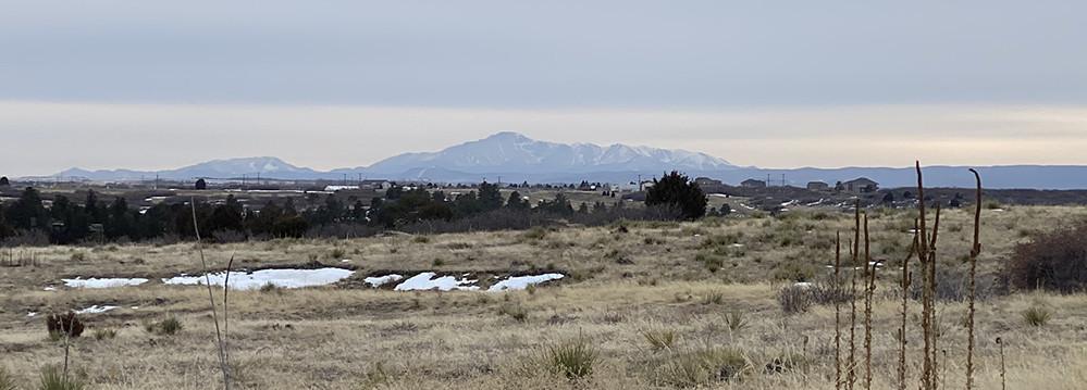 Pikes Peak by Colorado Springs