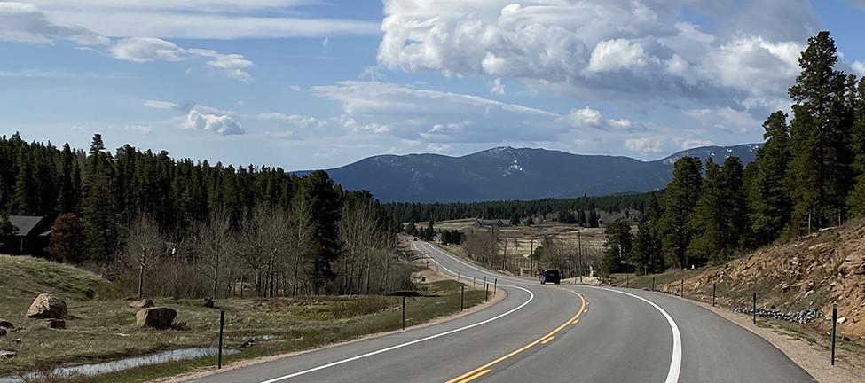 Estes Park Colorado Drive