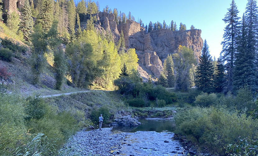 East Fork San Juan River Camp Site
