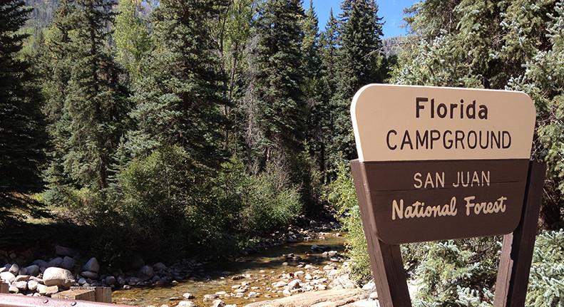 Florida Campground San Juan National Forest