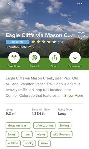 Eagle Cliffs via Staunton Ranch Trail Loop