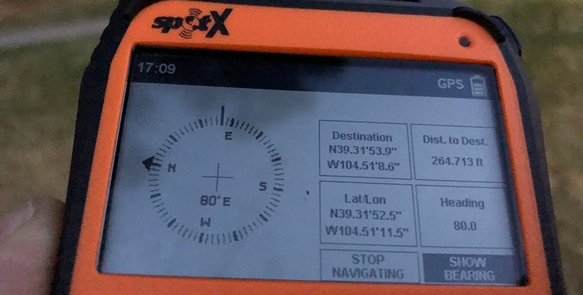SPOT X Built-In Compass