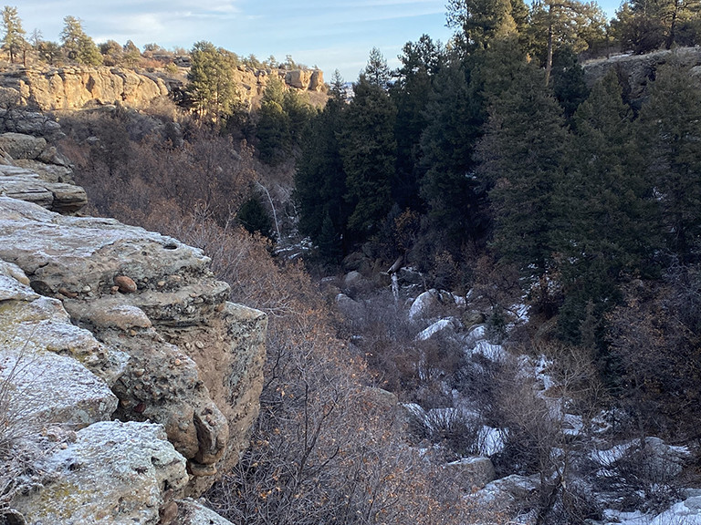 Mitchell Creek Canyon Trail