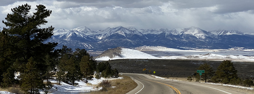 Drive to Westcliffe Colorado