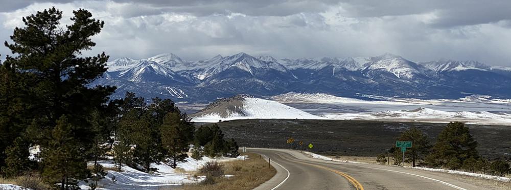 Drive to Westcliffe Colorado
