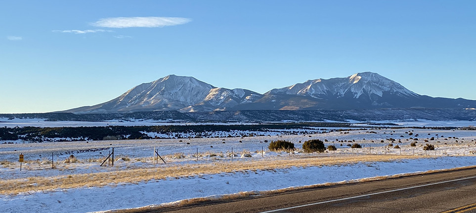 Spanish Peaks Walsenburg Colorado