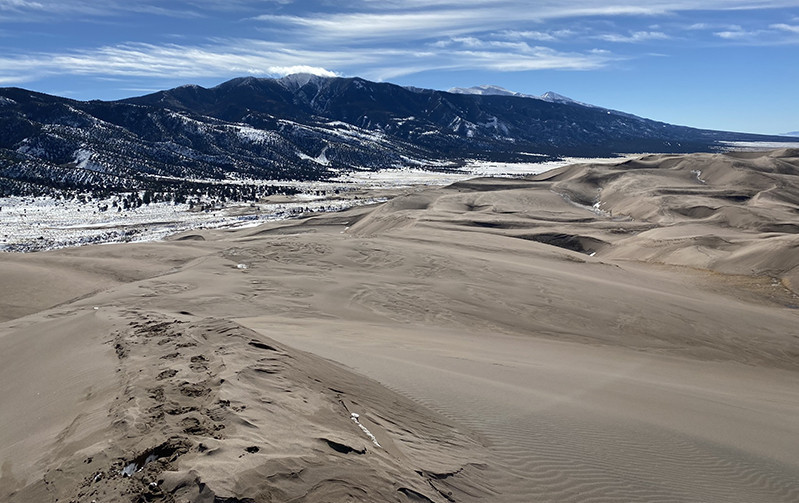 Views from the Sand Dune Peaks