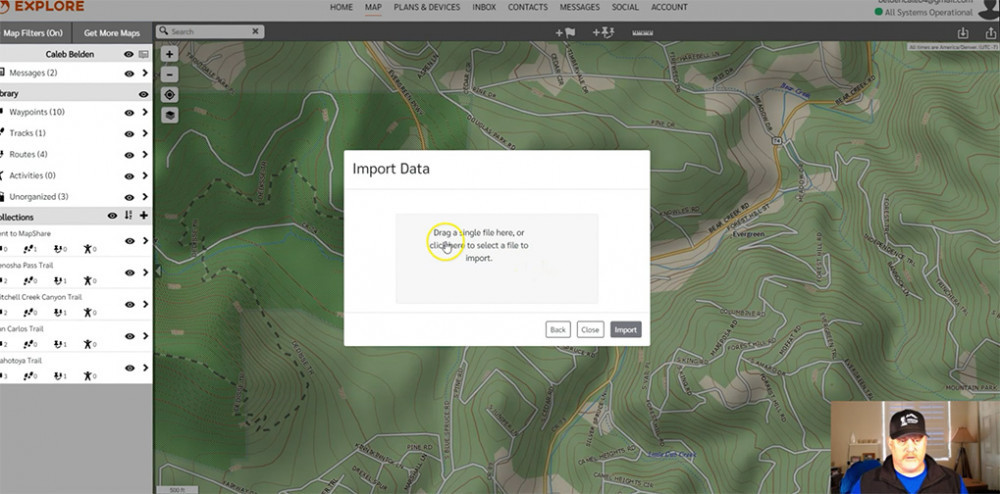 Import GPX File