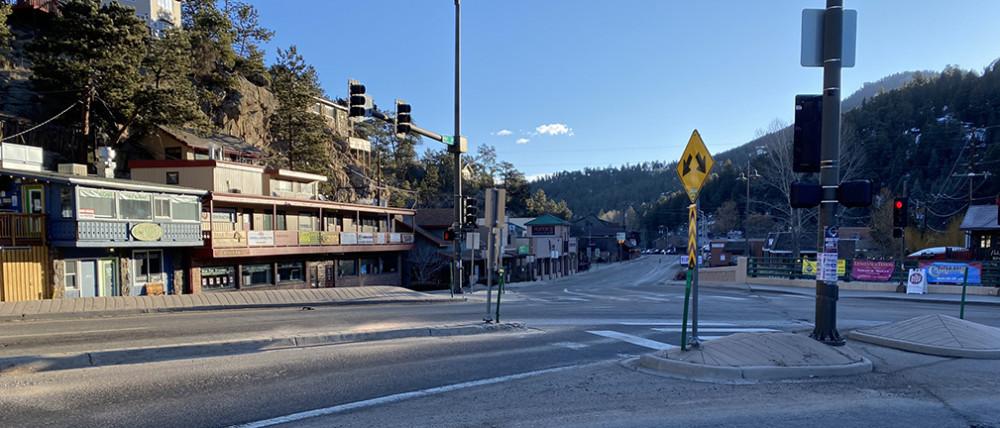 Downtown Evergreen Colorado