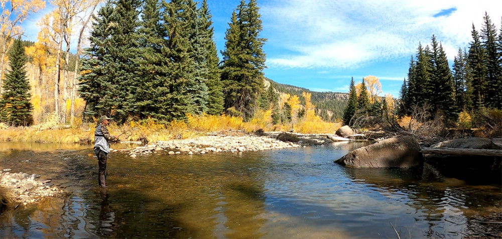 Colorado Fall Day on the River